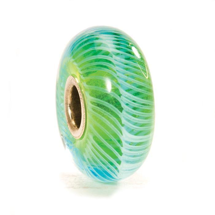 Turquoise Feather - trollbeadsuniverse.com