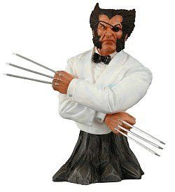Marvel Universe: Online Exclusive 'Suited' Wolverine 'Patch' Bust Limited to 400