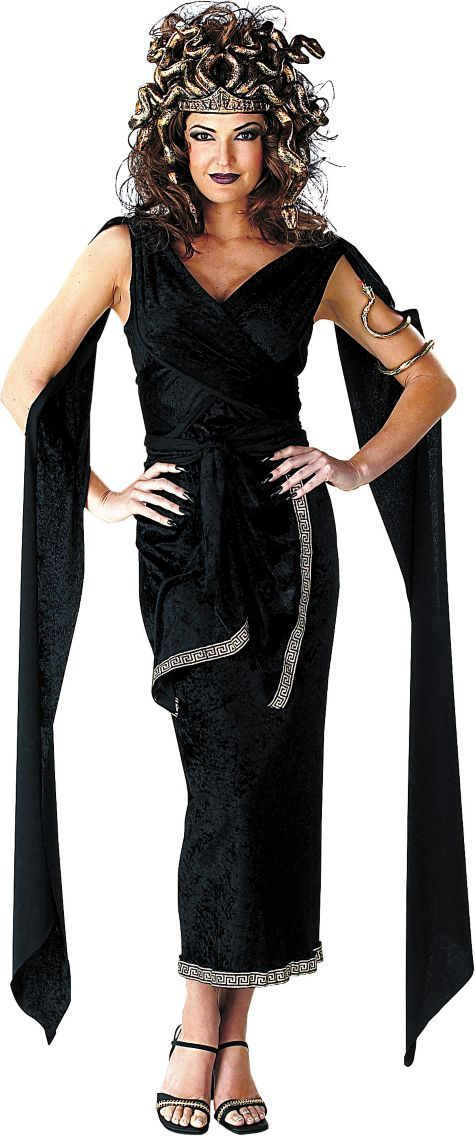 Adult Classic Medusa Costume - Egyptian, Roman, Greek - Womens Costumes - Halloween Costumes - Categories - Party City