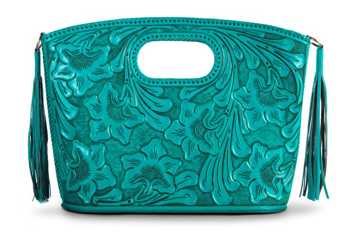 The Claire Tote in Turquoise by ADAMALEXIS. Lovely bag!