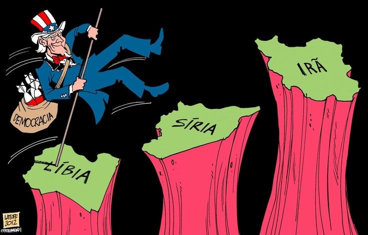 Resultado de imagem para lies siria charge