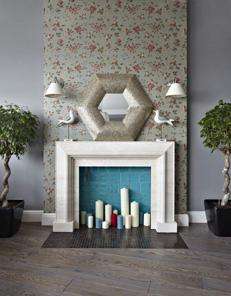 Fausse cheminée décorative pour se chauffer les yeux et agrémenter l'intérieur