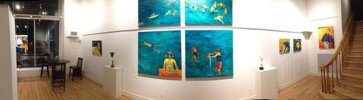 Geneviève LeBel Exposition ''Ménage à Trois'' Du 1er au 6 otcobre 2015