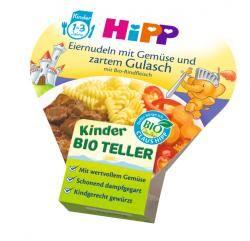 myTime Angebote Hipp Bio Eiernudeln mit Gemüse und zartem Gulasch mit Bio Rindfleisch: Category: Baby > Babynahrung >…%#lebensmittel%