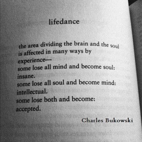 Charles Bukowski : Life (dance)