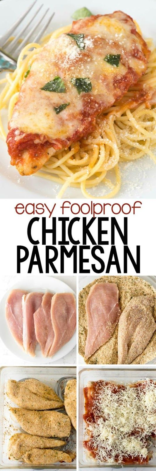 EASY CHICKEN PARMESAN | Food And Cake Recipes