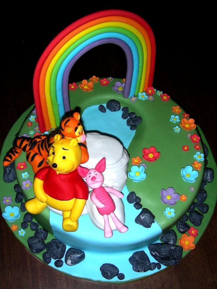 17 best images about kuchen und torten on pinterest for Winnie pooh kuchen deko