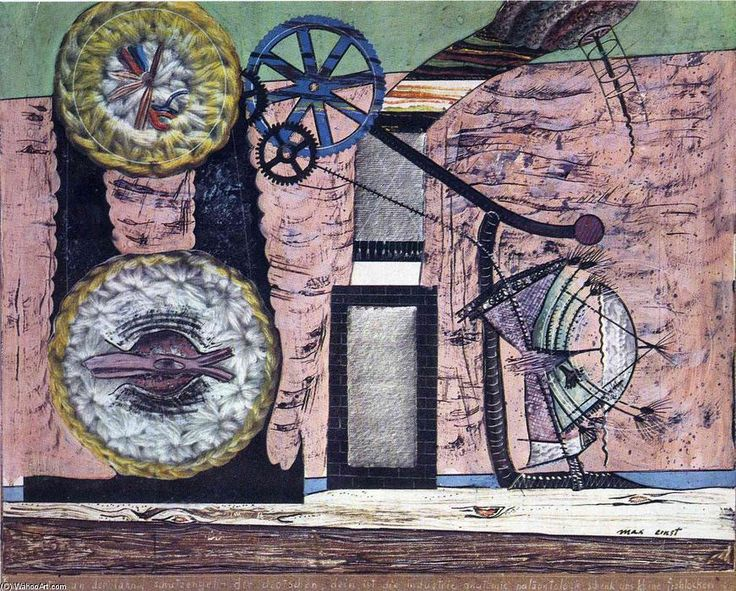 , collage von Max Ernst (1891-1976, Germany)