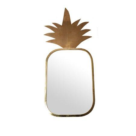 Miroir ananas - Home autour du monde