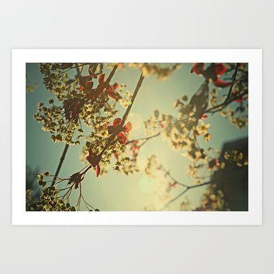 Welcome Spring | 02 Art Print by Around & Around - $13.00