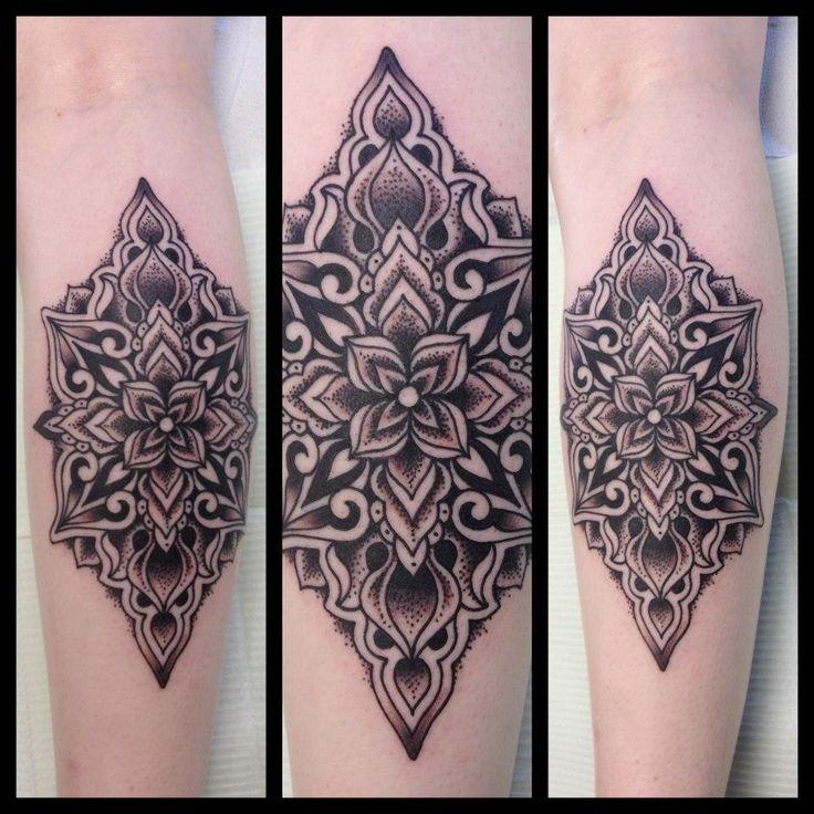 Mandala tattoo @ Black Magic Tattoo, Vernon BC - Imgur