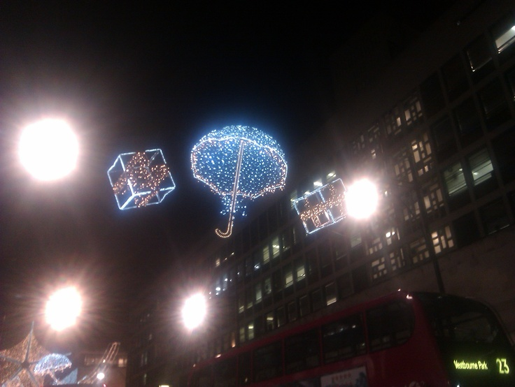Oxford Circus Xmas Decorations 7
