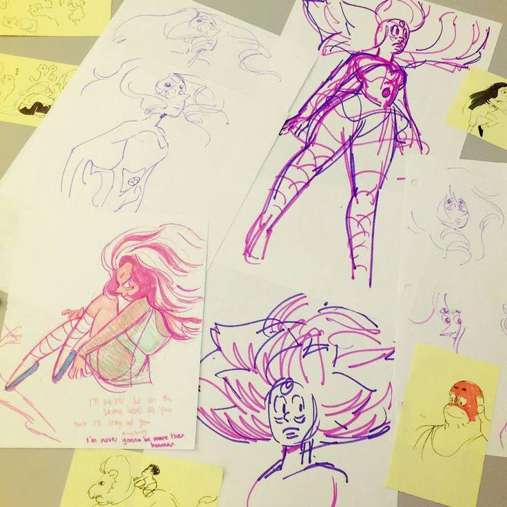 Steven Universe - Some concept sketches I found