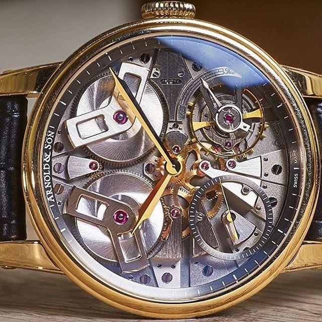 Arnold & Son  #watch #watches #arnoldandsonwatch #tourbillon #automaticmovement #jamtangan #jamtanganarnold by lareen_veyron