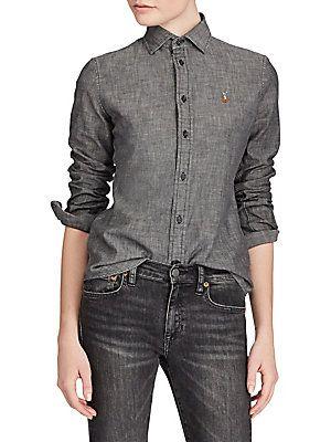 Polo Ralph Lauren Long Sleeve Cotton Top
