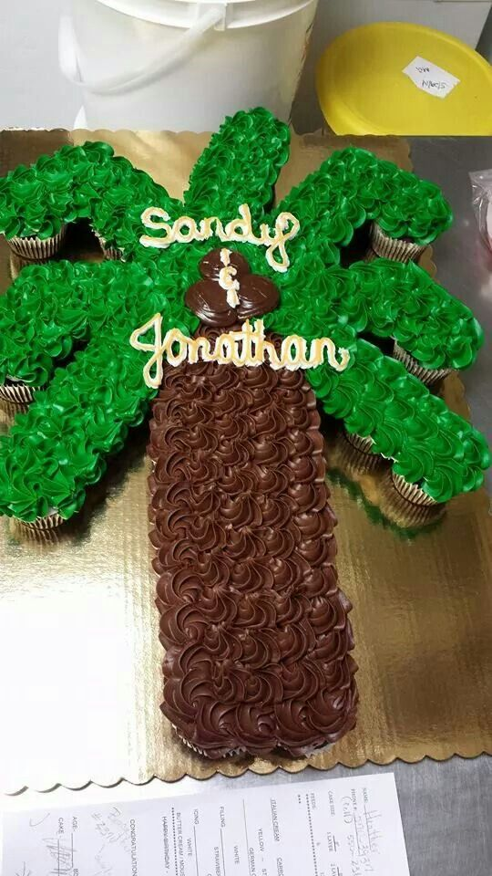 Best 25 Palm Tree Cakes Ideas On Pinterest Wave Cake