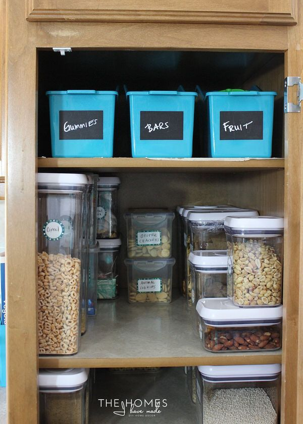 Organize This Storage Solutions For A Skinny Pantry