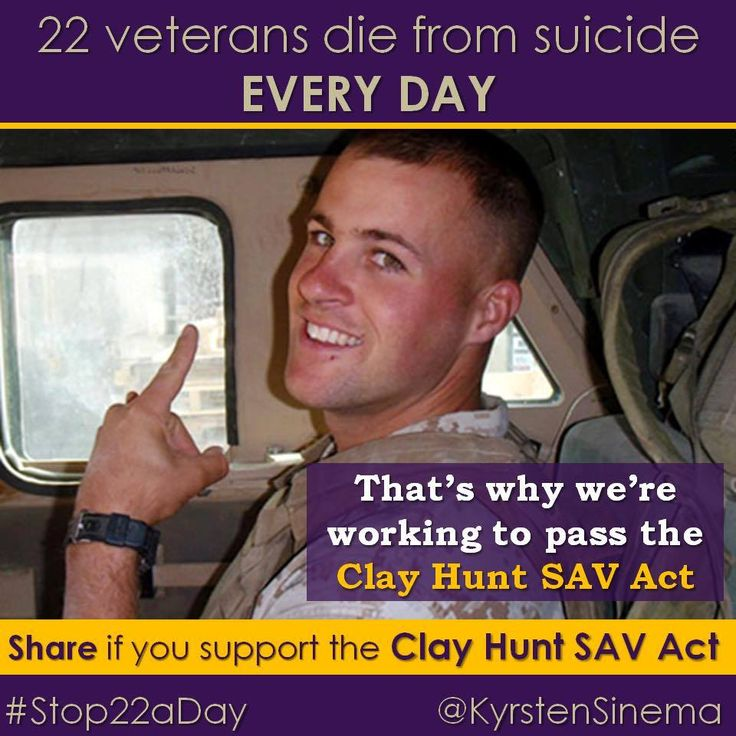 Sadly this did not pass. A Republican Senator Killed a Veterans Suicide Prevention Bill Because It Cost Too Much.