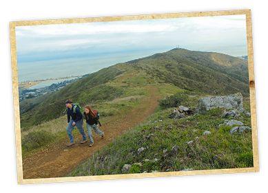 Hike San Bruno Mountain East Peak (8 miles roundtrip, views of SF)  - Weekend Sherpa
