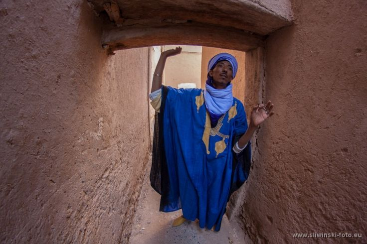 Morocco - the local guide.
