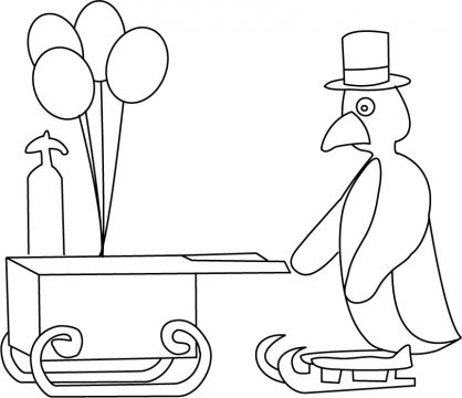 pingu coloring pages - photo#19