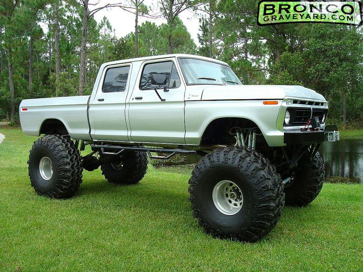 Big Ford truck