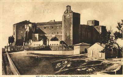 Melfi - Castello Normanno - Veduta principale