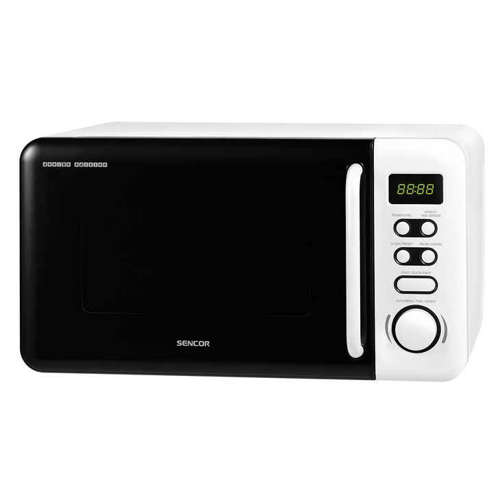 Microwave Oven SMW 3720 - Automatic defrosting based on weight - 5 microwave power levels - Pre-programmed cooking (8 menus)