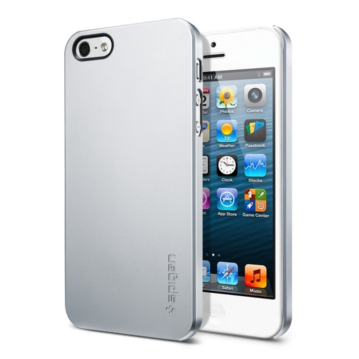 SPIGEN SGP iPhone 5 Case Ultra Thin Air Satin Silver