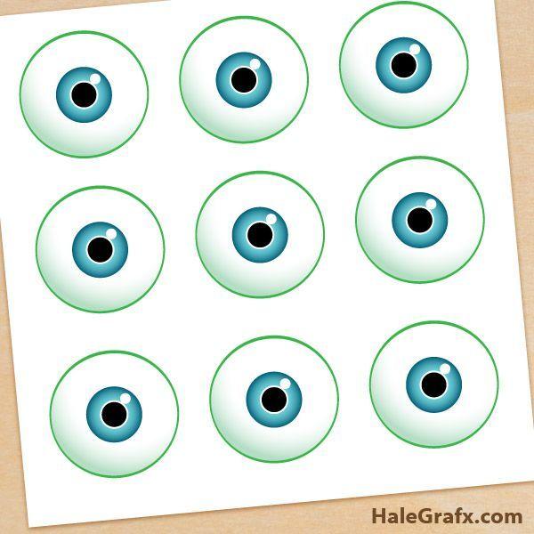 monsters inc eyes FREE Monsters Inc. Pin the Eye on Mike Printable