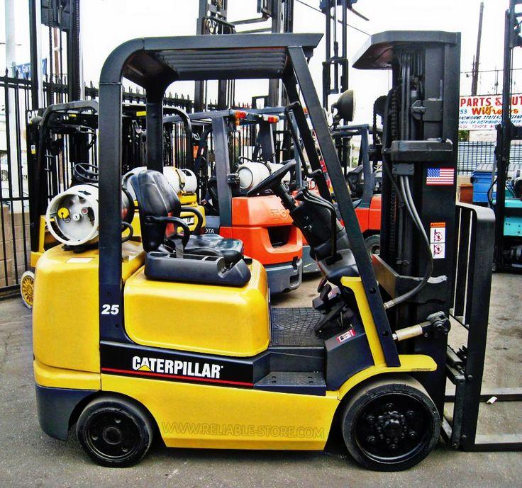 Caterpillar Forklift Manual model G