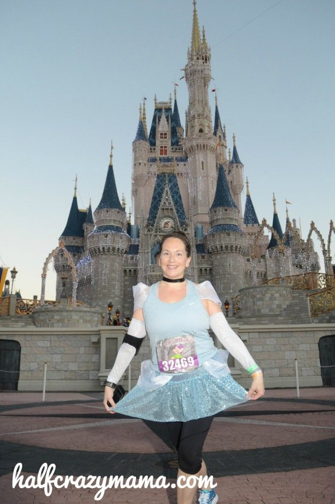 How to make a Cinderella Running Costume