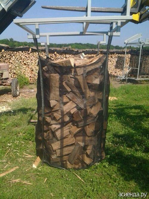 Австрийский дровник: Группа Постройки на участке
