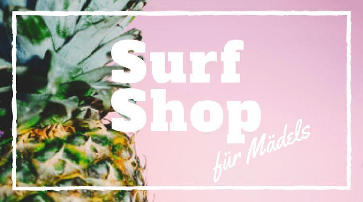 In meinem Surf Bikini Shop findest du meine liebsten Surf Bikinis! Für jede Frau die gerne surft und das Meer liebt ist hier was dabei!