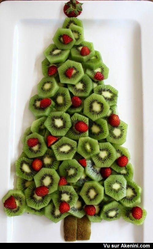 Recettes marrantes Noël - Funny Art Food Christmas                                                                                                                                                                                 Plus