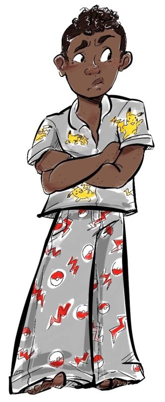hatnhousejacket: A Carter in Pokemon pajamas because that is canon and it makes me soooooo happy!!!