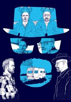 "15 Brilliant ""Breaking Bad"" Posters By British Artists"
