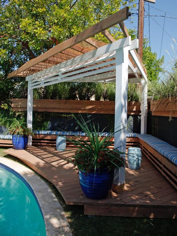 Make Shade: Canopies, Pergolas, Gazebos and More : Outdoors : Home & Garden Television