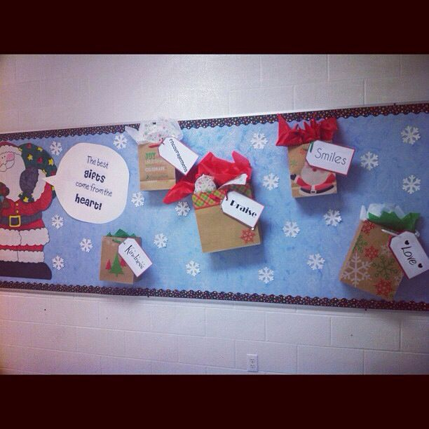The Best Gifts Come From The Heart Bulletin Board