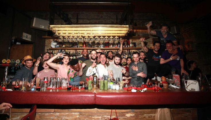 Πήγαμε  …Αγκαζέ στη διοργάνωση που έλαβε χώρα στη Λάρισα και ένωσε Έλληνες, Λονδρέζους και Γάλλους Bartender διεθνούς φήμης