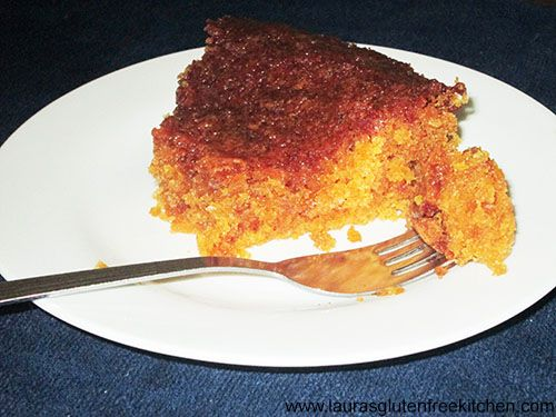 Gluten Free Golden Syrup Cake --- This gorgeous cake is simply delicious. Its a rich, moist cake drenched with the wonderful flavor of golden syrup.
