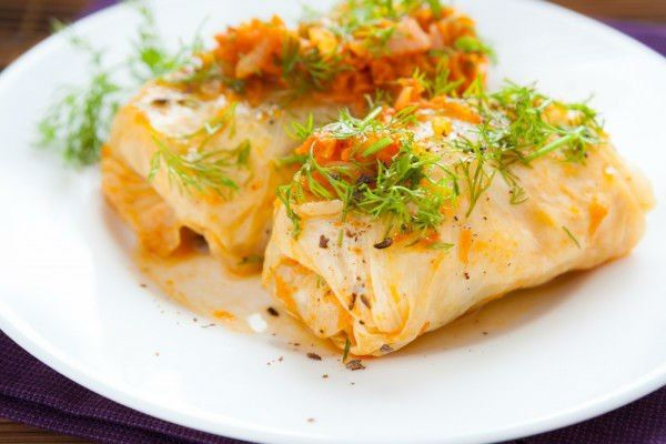 Sarmi (Bulgarian stuffed cabbage)