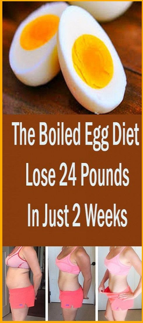 Lose 24 Kilos In Simply 2 Weeks With The Boiled Egg Weight loss program