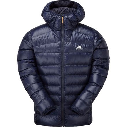 That predawn parking-lot gathering is scientifically proven to be the coldest place on Earth, barely beating out the first five minutes on the skin track and the initial pitch of January ice, and it's for these environments that Mountain Equipment designed the Dewline Men's Hooded Down Jacket.