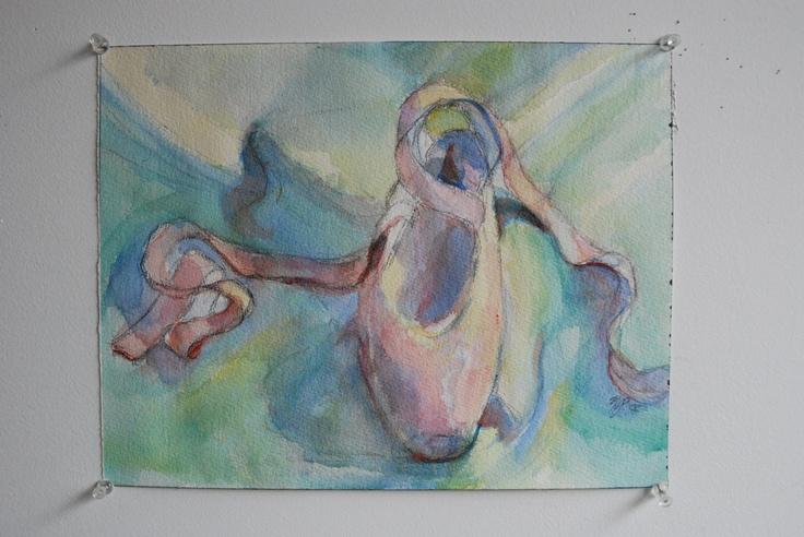 Watercolor, MJSchacker...that's me.