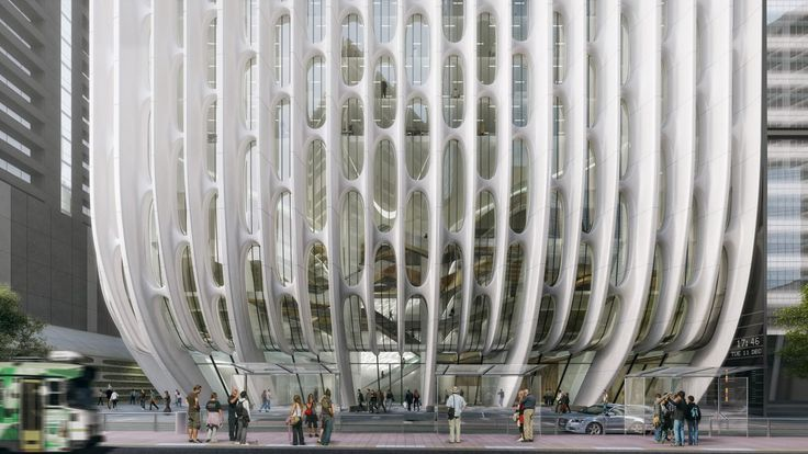 """Zaha Hadid Architects unveils new visuals for """"stacked vases"""" hotel tower"""