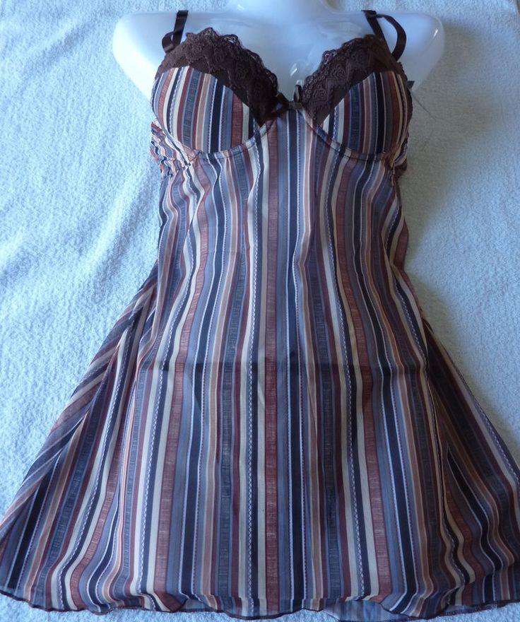 Nuisette femme combinette lingerie string Taille M (38) neuf sanselle
