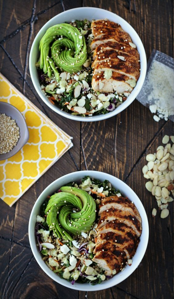 Wild Greens & Quinoa Grain Bowl | The Foodie Physician #EatSmartVeggies - easily dairy-free, too!
