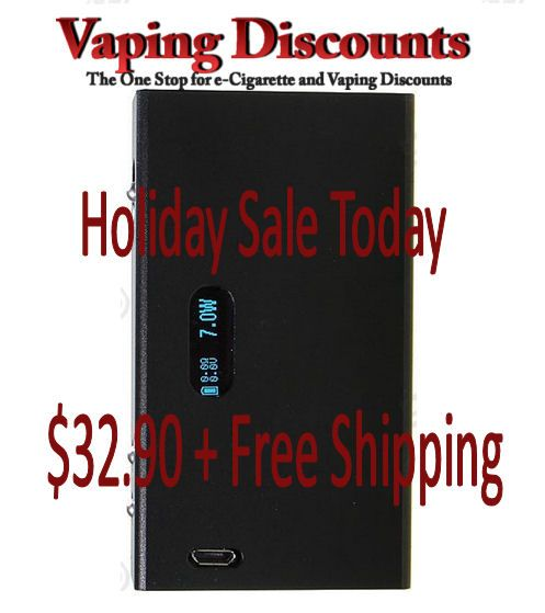 December 25, 2014 Hana Modz Style DNA 30 Holiday Vape Sale: Hana Modz Style 30W Mod $32.90 The Hana Modz Style mod has been around for a while now