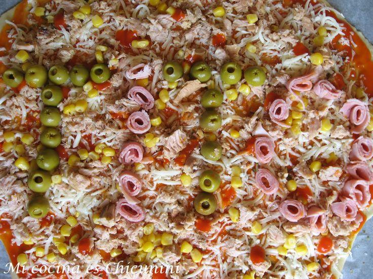 Mi cocina es Chicunini: Pizza special Pé, en honor a Tito